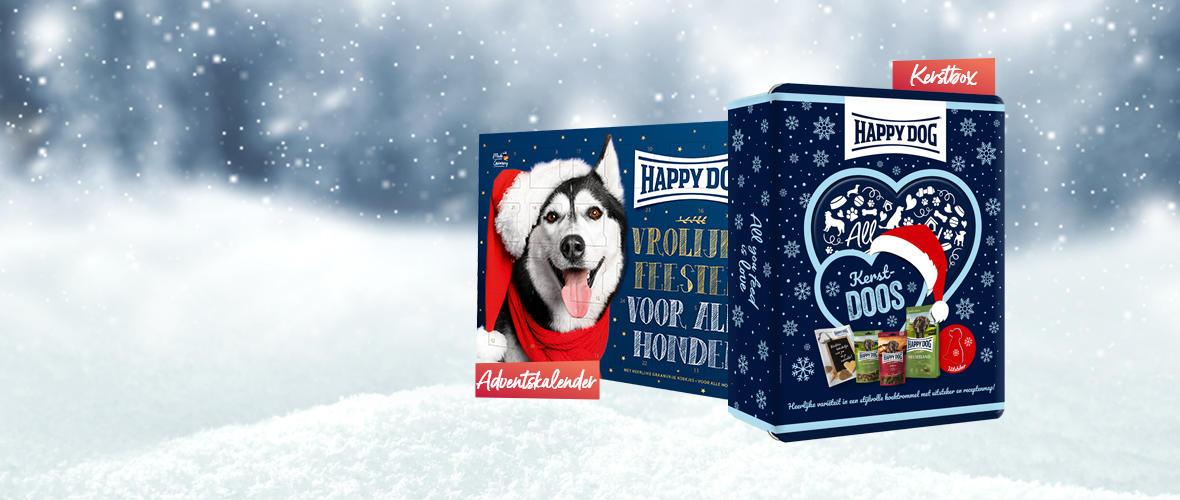 Kerstacties Happy Dog - Cat