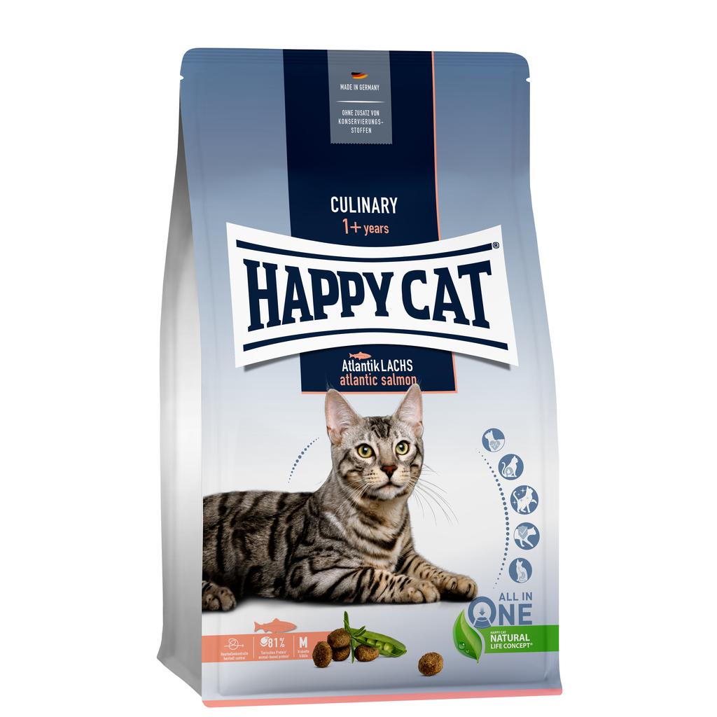 Happy Cat atlantik lachs (zalm)