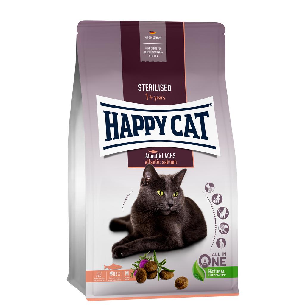 Happy Cat Sterilised Atlantich lachs (zalm)