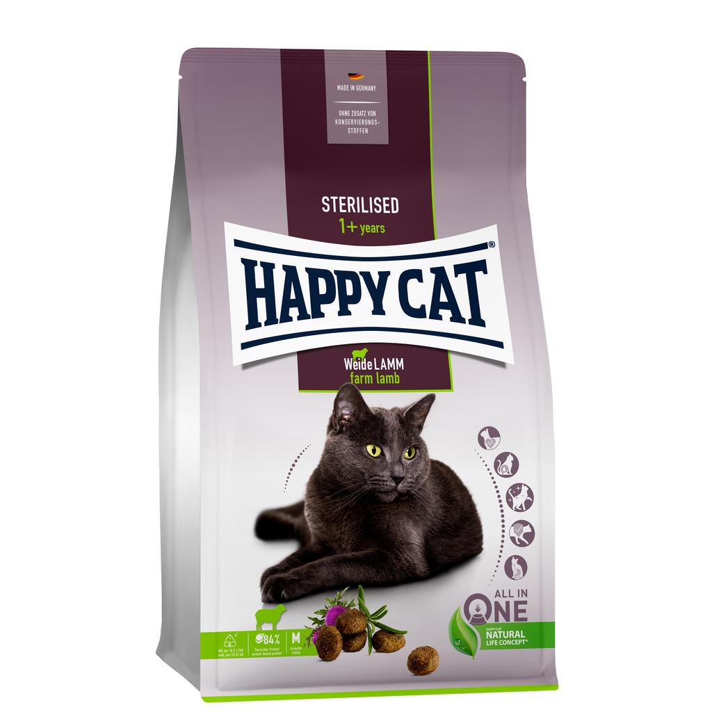 Happy cat sterilised weide lam